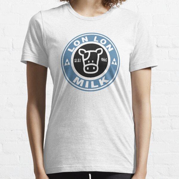 Lon Lon Milk Stamp Essential T-Shirt