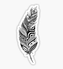 Cool Feather Sticker