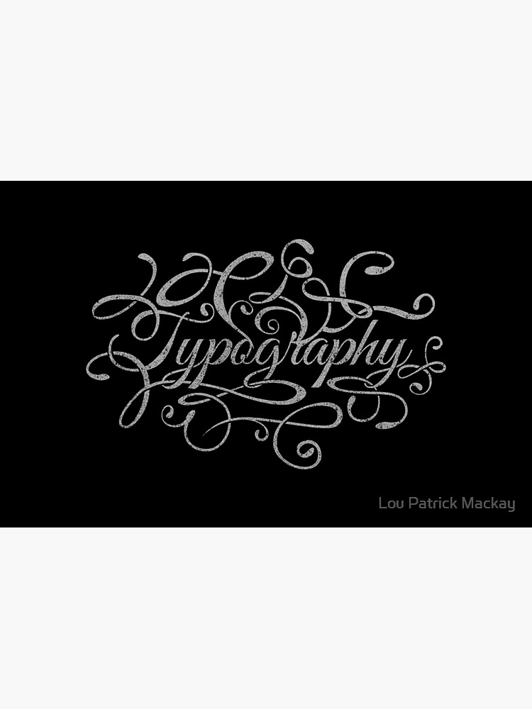 Typography on Typography by opawapo