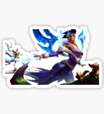Winter Wonder Karma League Of Legends Sticker