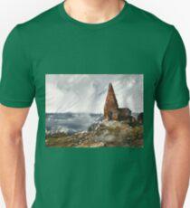 Scotish environment along seashore Unisex T-Shirt