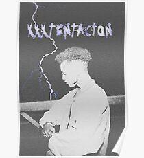 XXXTENTACION LIGHTNING Poster