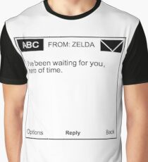 Legend of Zelda Ocarina of Time - I've Been Waiting For You, Hero of Time Graphic T-Shirt