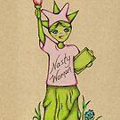 Nasty Woman Statue of Liberty by AdrienneAllen