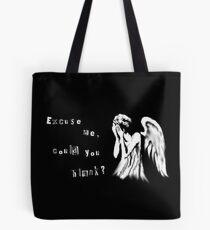 Tearful angel Tote Bag