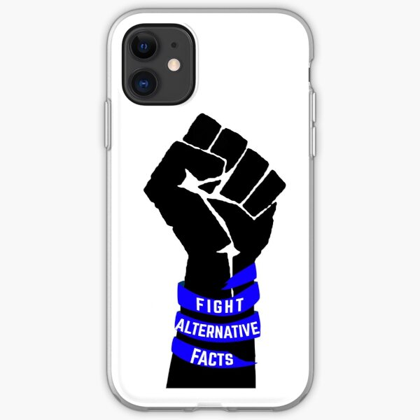 Fight Alternative Facts iPhone Soft Case