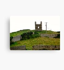 Derelict house in Donegal, Ireland Canvas Print