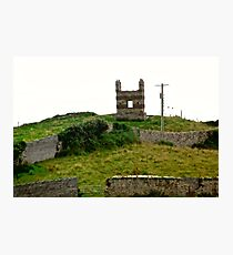 Derelict house in Donegal, Ireland Photographic Print
