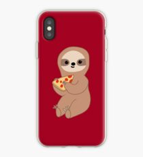Pizza Sloth iPhone Case