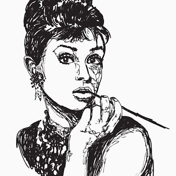 Icon: Audrey Hepburn by BDalke