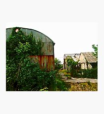 Abandoned barns, Donegal, Ireland Photographic Print