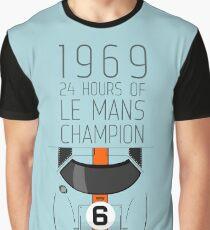 1969 Race Winner Graphic T-Shirt
