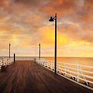 Shorncliffe Pier, Brisbane, Queensland, Australia by Michael Boniwell