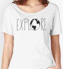 Explore the Globe Women's Relaxed Fit T-Shirt