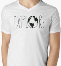 Explore the Globe Men's V-Neck T-Shirt