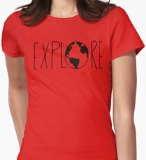 Explore the Globe Womens Fitted T-Shirt