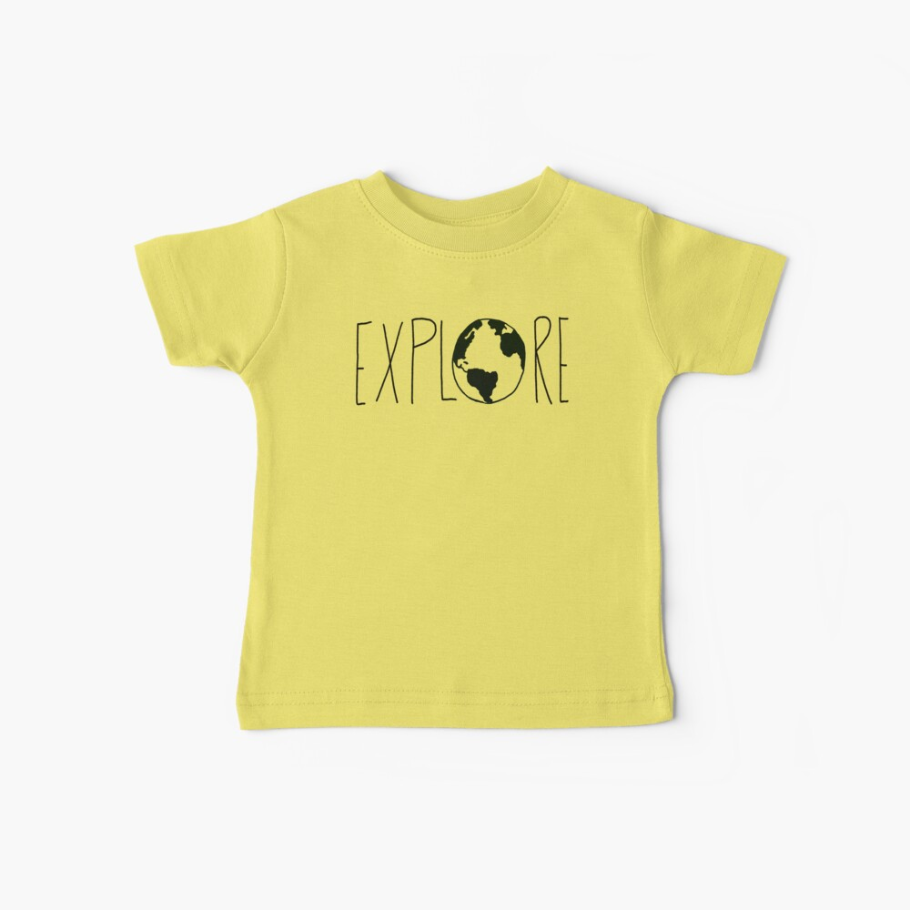 Explore the Globe Baby T-Shirt