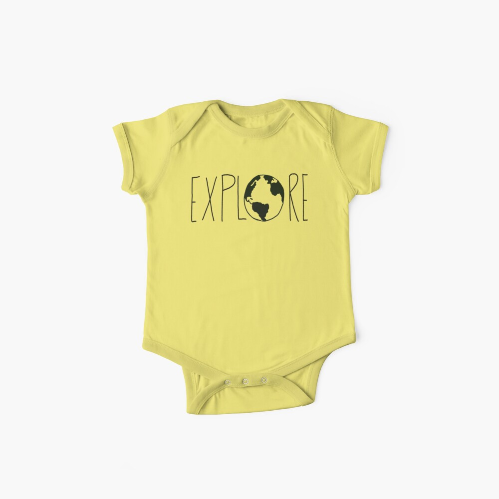 Explore the Globe Baby One-Piece