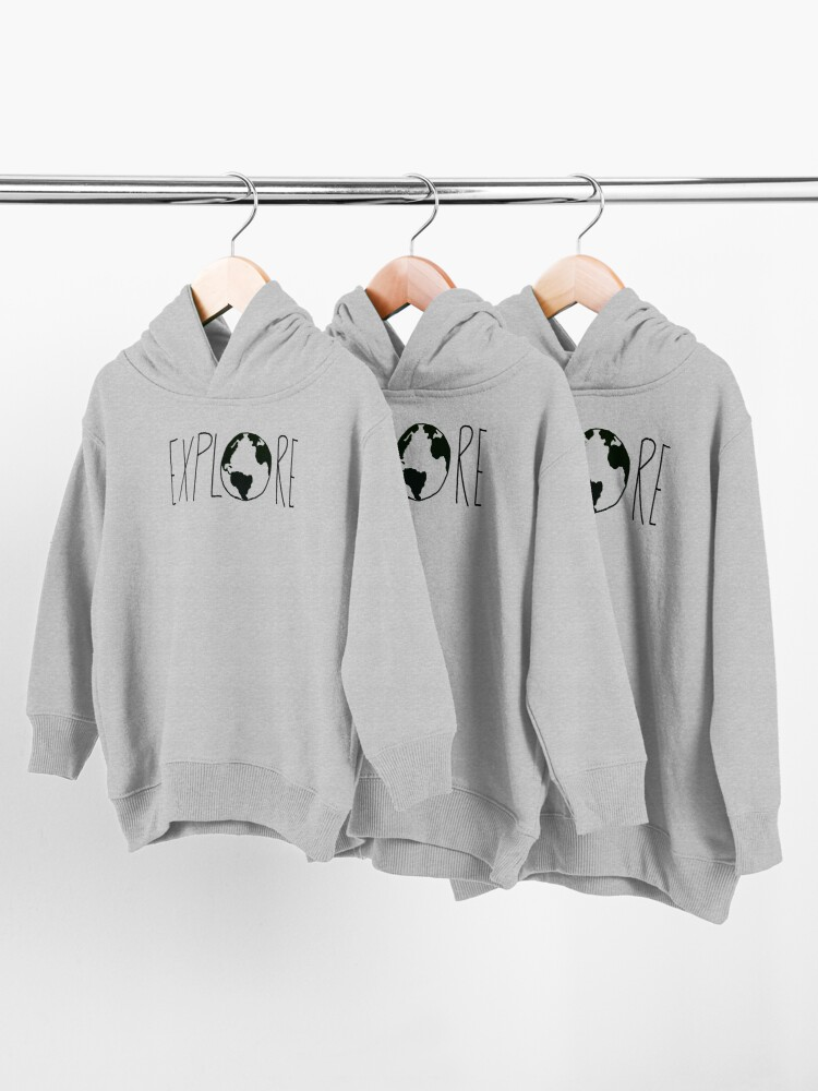Alternate view of Explore the Globe Toddler Pullover Hoodie