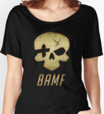 B.A.M.F Women's Relaxed Fit T-Shirt