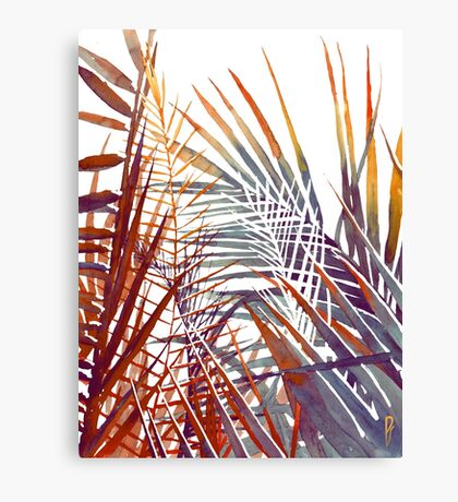 Household jungle Canvas Print
