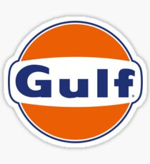 Gulf Logo Sticker