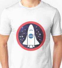Nasa Rocket Logo T-Shirt