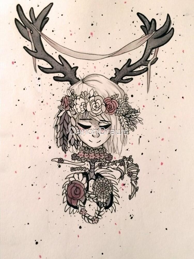 Antlers by DanonDraws