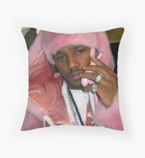 cam'ron in pink Throw Pillow