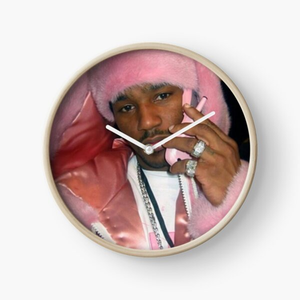 cam'ron in pink Clock
