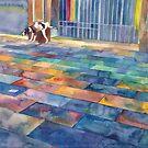 Dog on the walk by Maja Wrońska