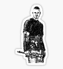 Bjorn Ironside Vikings Sticker