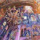 Notre Dame in Paris interior by Maja Wrońska