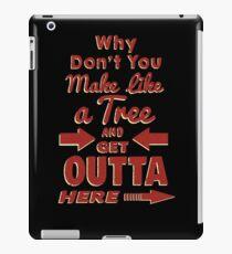 The Immortal Words of Biff Tannen iPad Case/Skin
