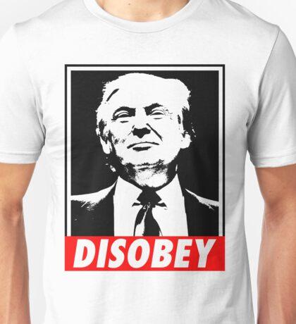 Disobey Trump Unisex T-Shirt