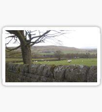 Rural scene Sticker