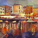 Night in Venice, panorama by Maja Wrońska
