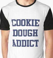 Cookie Dough Addict Graphic T-Shirt