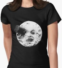 moon Women's Fitted T-Shirt