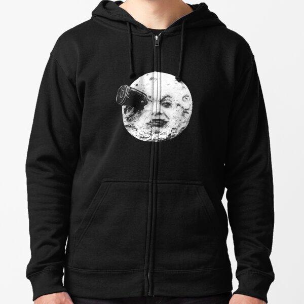 moon Zipped Hoodie