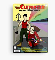 Clevenger and the Henchman Metal Print