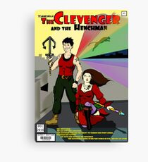 Clevenger and the Henchman Canvas Print