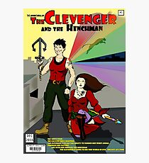 Clevenger and the Henchman Photographic Print