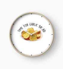 Time for Garlic Bread  Clock