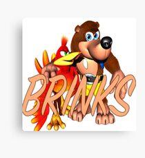 Brink & Kazooie Canvas Print