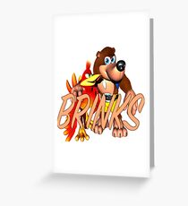 Brink & Kazooie Greeting Card