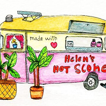 Helen's Food Truck by allybdesign