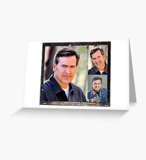 Bruce Campbell Greeting Card