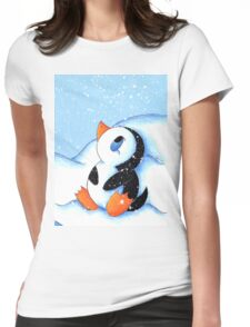 Antarctic Flurry Womens Fitted T-Shirt