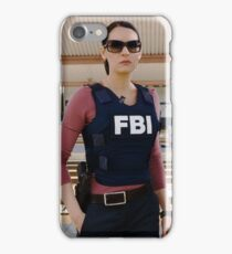 Emily Prentiss still  iPhone Case/Skin